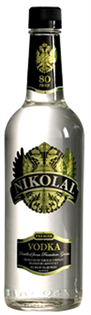 Nikolai Vodka 80@ 750ml - Case of 12